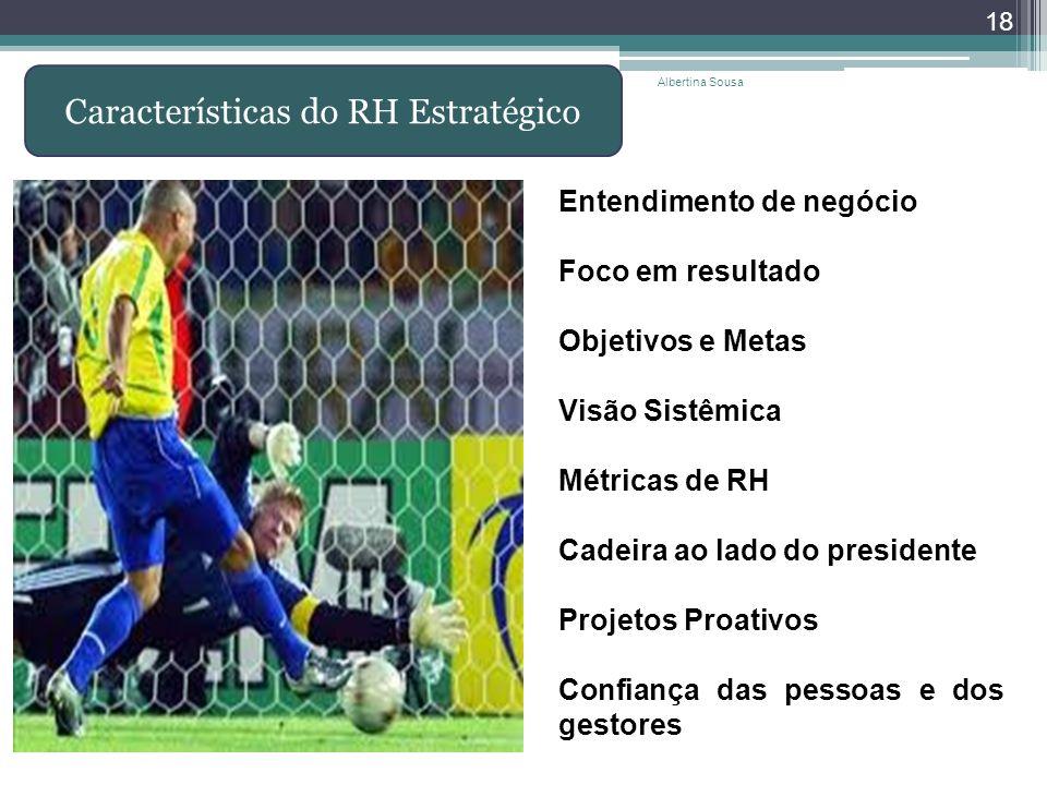 Características do RH Estratégico