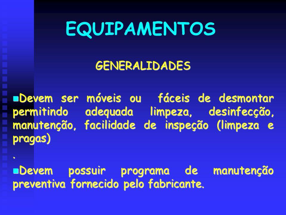 EQUIPAMENTOS GENERALIDADES