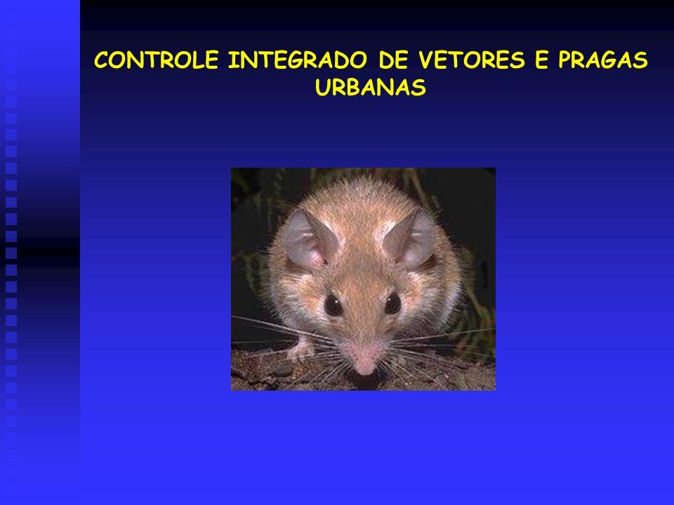 CONTROLE INTEGRADO DE VETORES E PRAGAS URBANAS