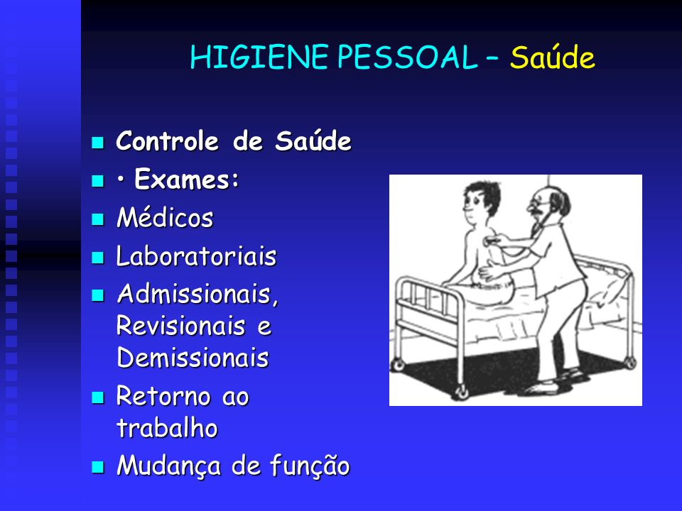 HIGIENE PESSOAL – Saúde