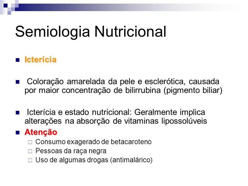 Semiologia Nutricional