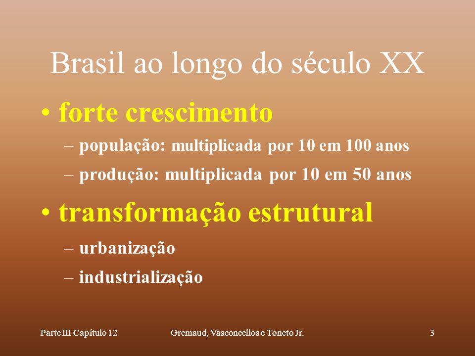 Brasil ao longo do século XX