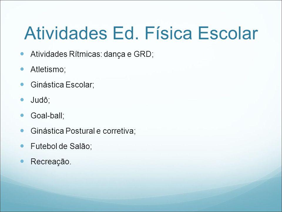 Atividades Ed. Física Escolar