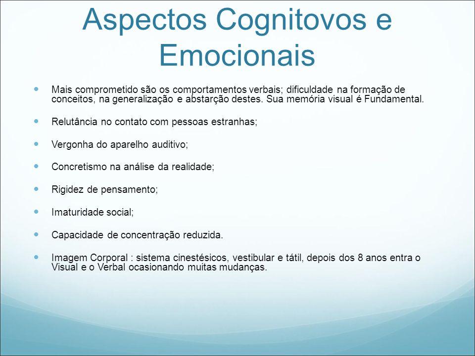 Aspectos Cognitovos e Emocionais