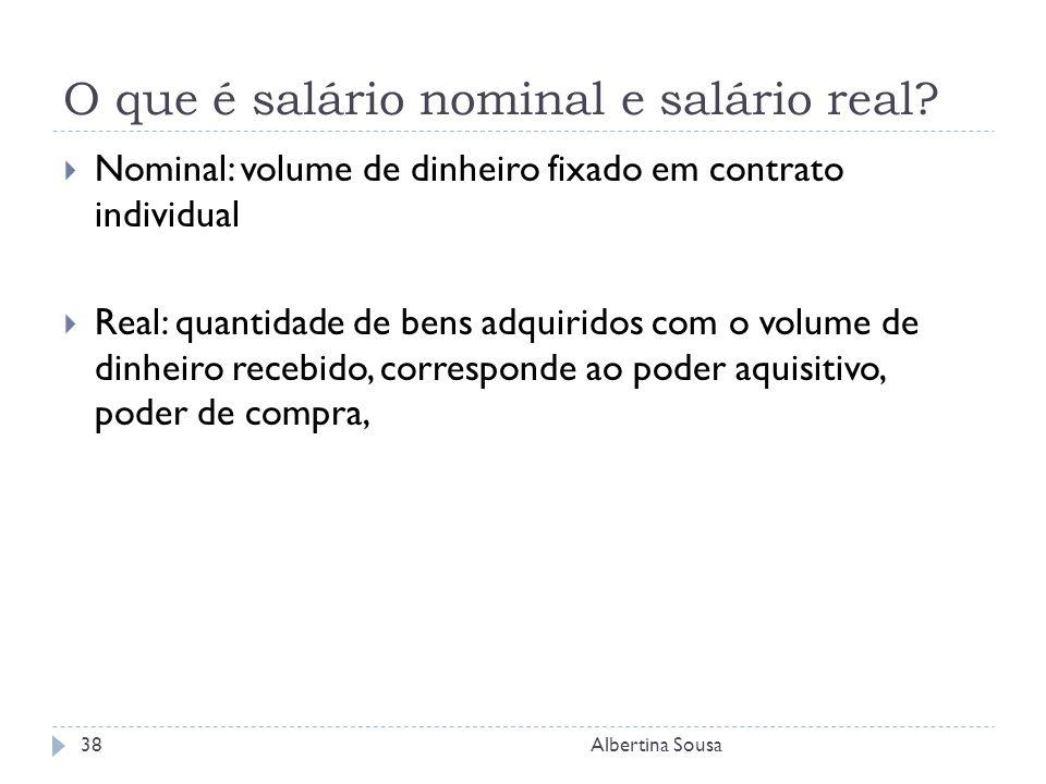 O que é salário nominal e salário real