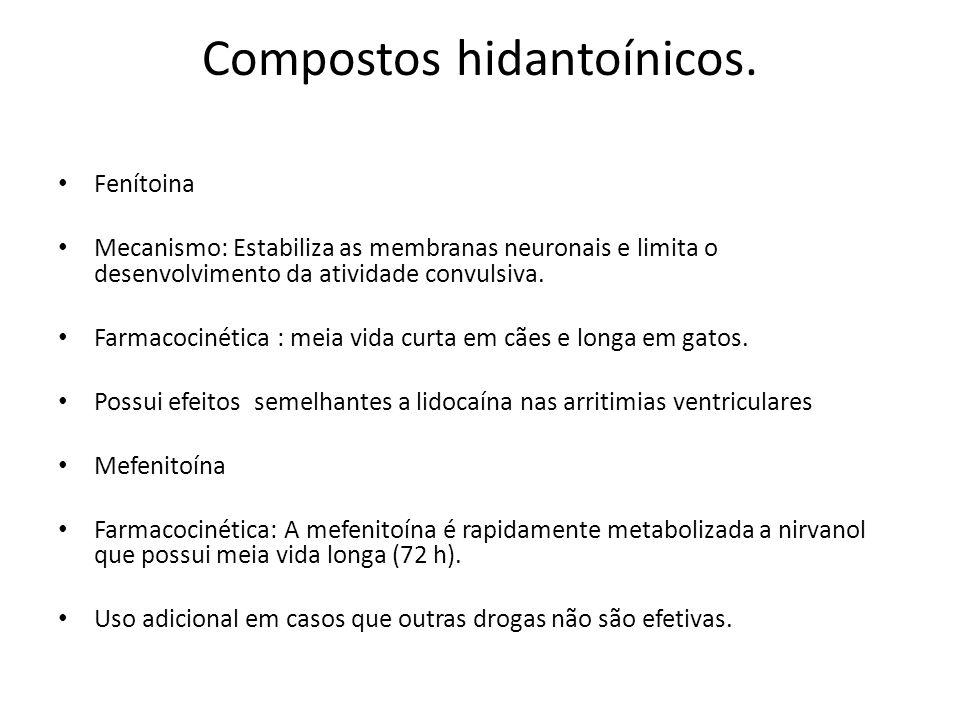 Compostos hidantoínicos.