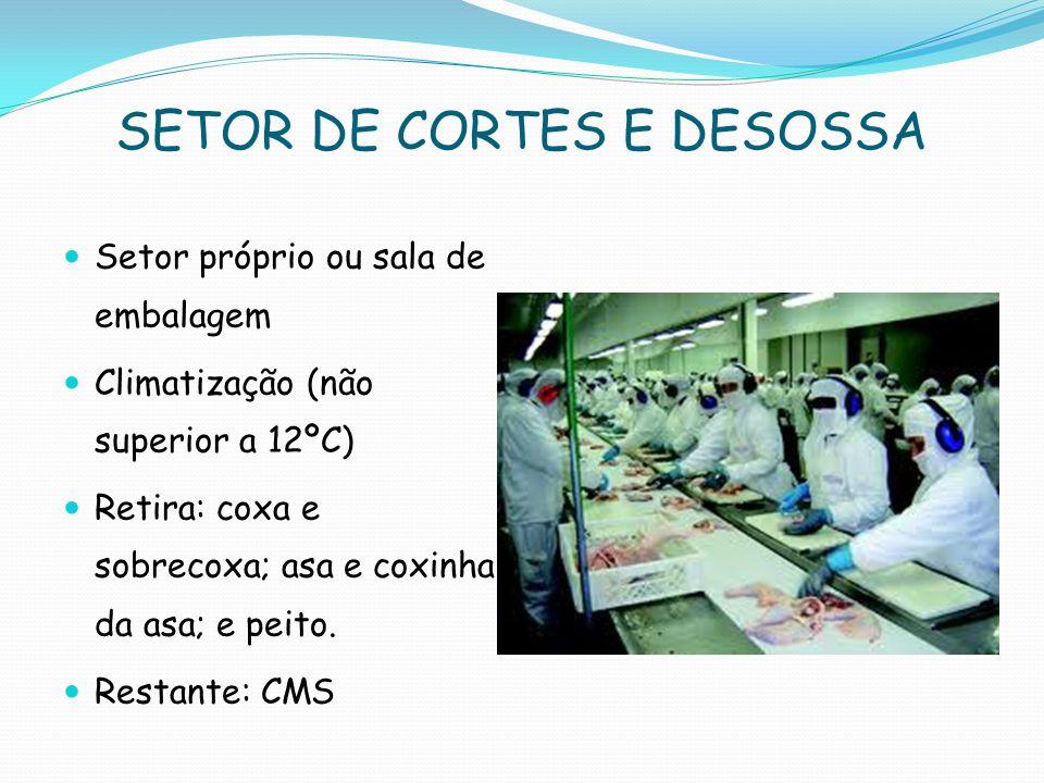 SETOR DE CORTES E DESOSSA