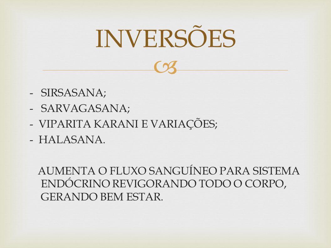 INVERSÕES