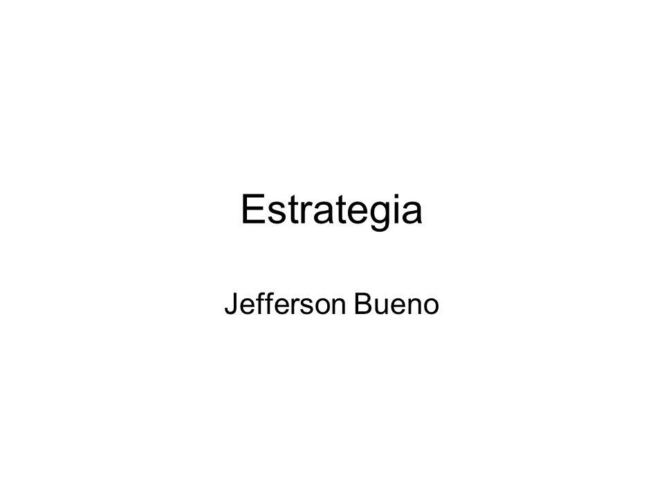 Estrategia Jefferson Bueno