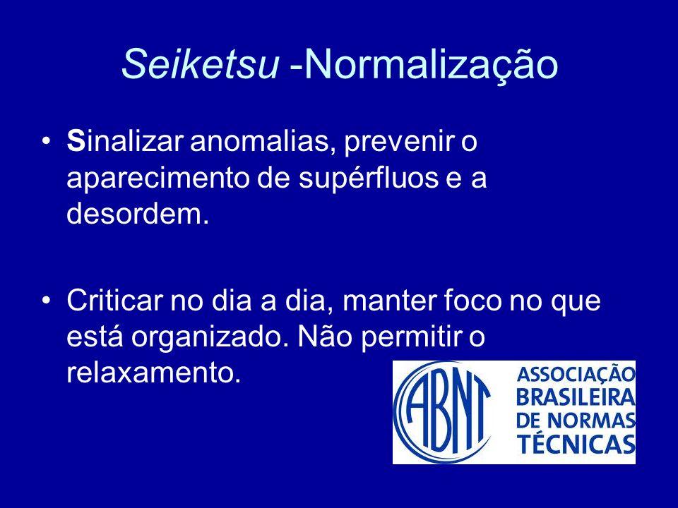 Seiketsu -Normalização