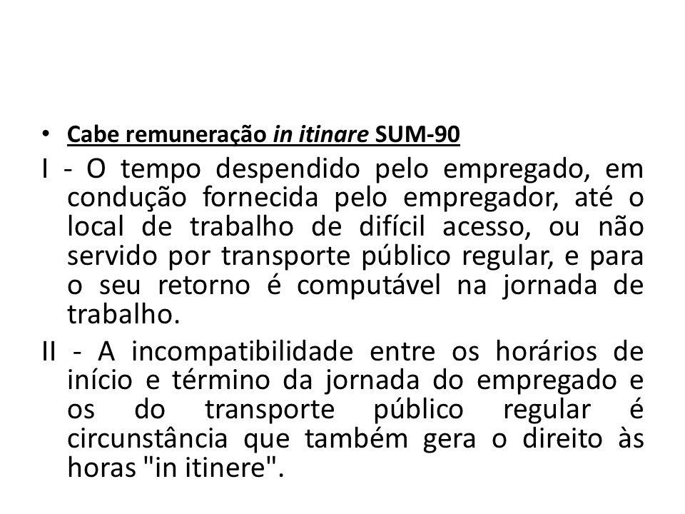 Cabe remuneração in itinare SUM-90