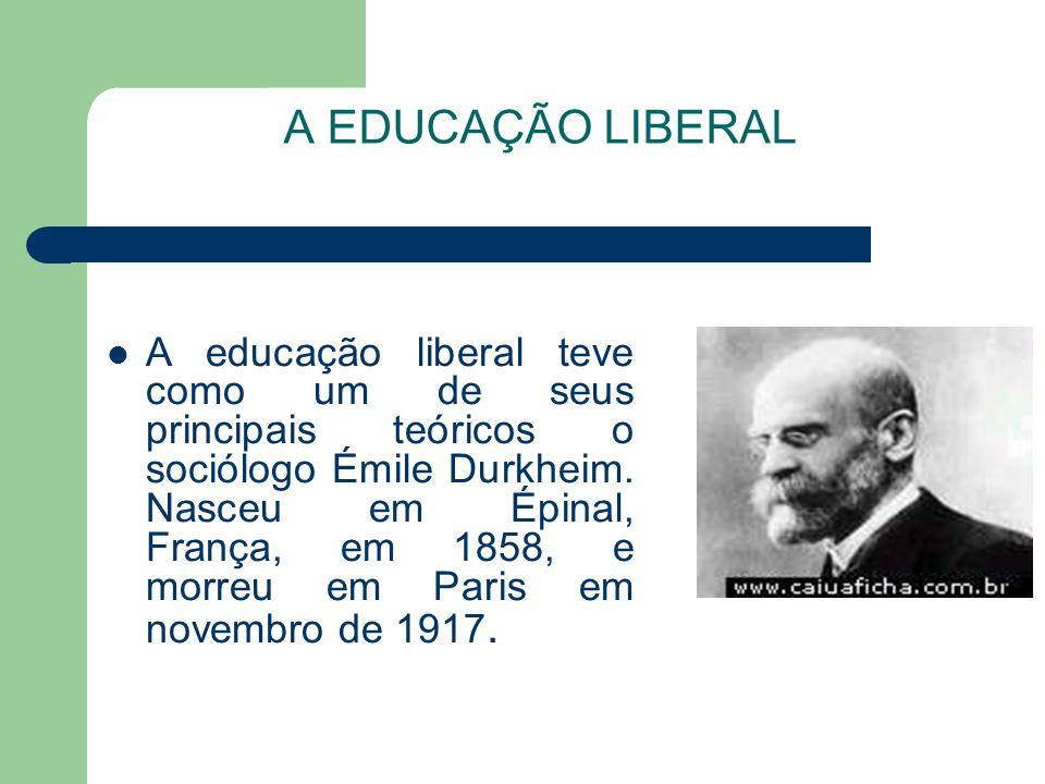 A EDUCAÇÃO LIBERAL
