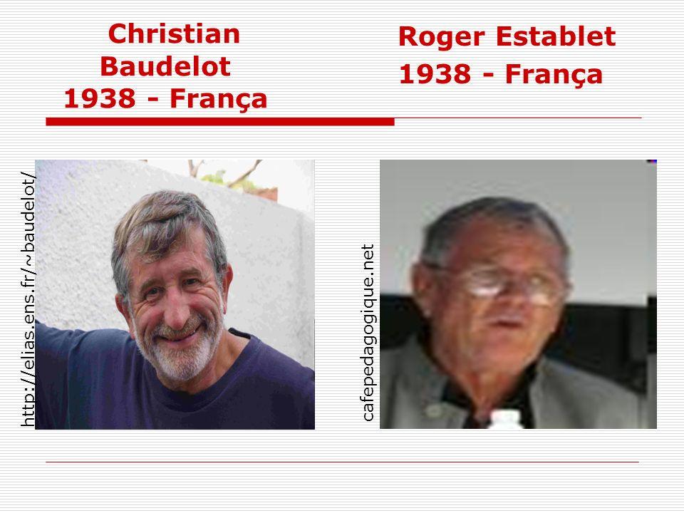 Christian Baudelot 1938 - França