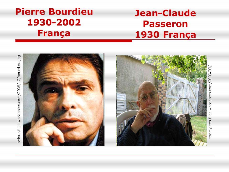 Pierre Bourdieu 1930-2002 França