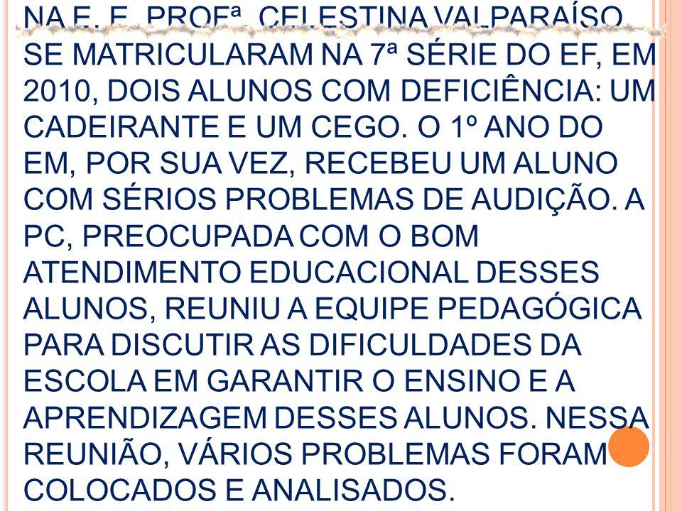 NA E. E. PROFª.