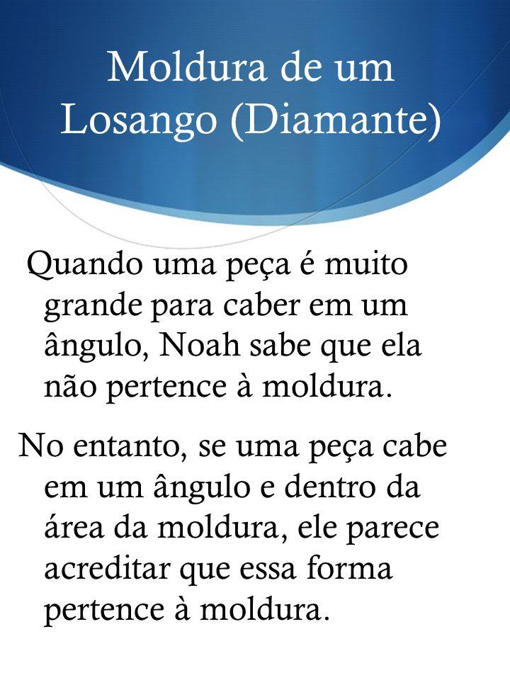 Moldura de um Losango (Diamante)