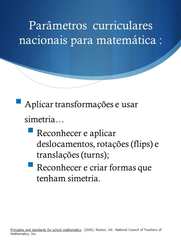 Parâmetros curriculares nacionais para matemática :