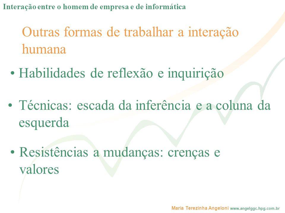 Outras formas de trabalhar a interação humana