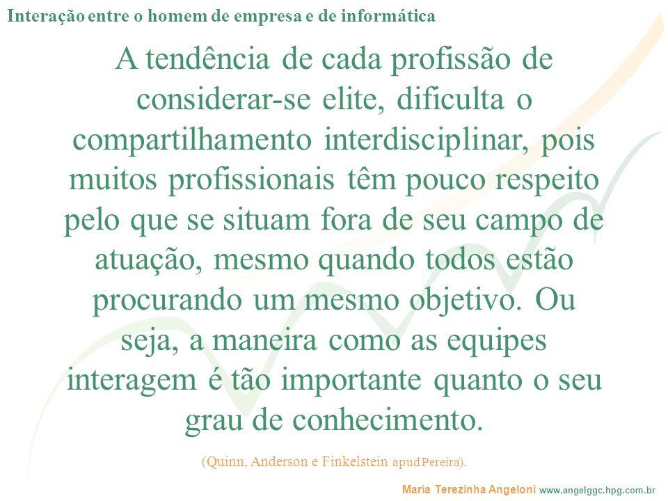 (Quinn, Anderson e Finkelstein apud Pereira).