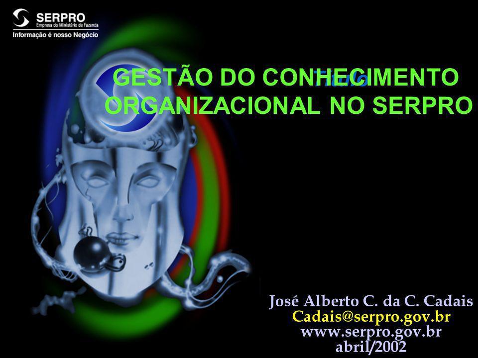 GESTÃO DO CONHECIMENTO ORGANIZACIONAL NO SERPRO
