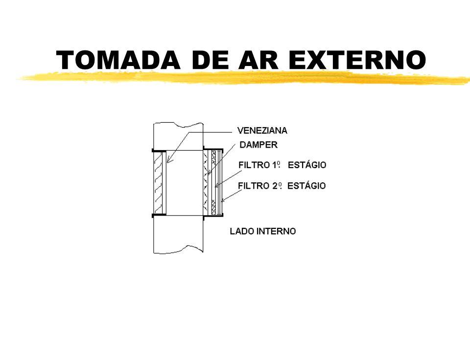 TOMADA DE AR EXTERNO