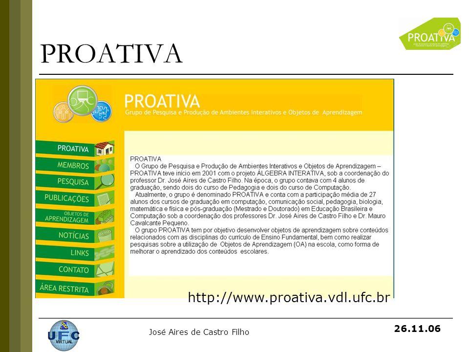 PROATIVA http://www.proativa.vdl.ufc.br
