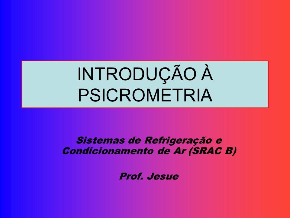 INTRODUÇÃO À PSICROMETRIA