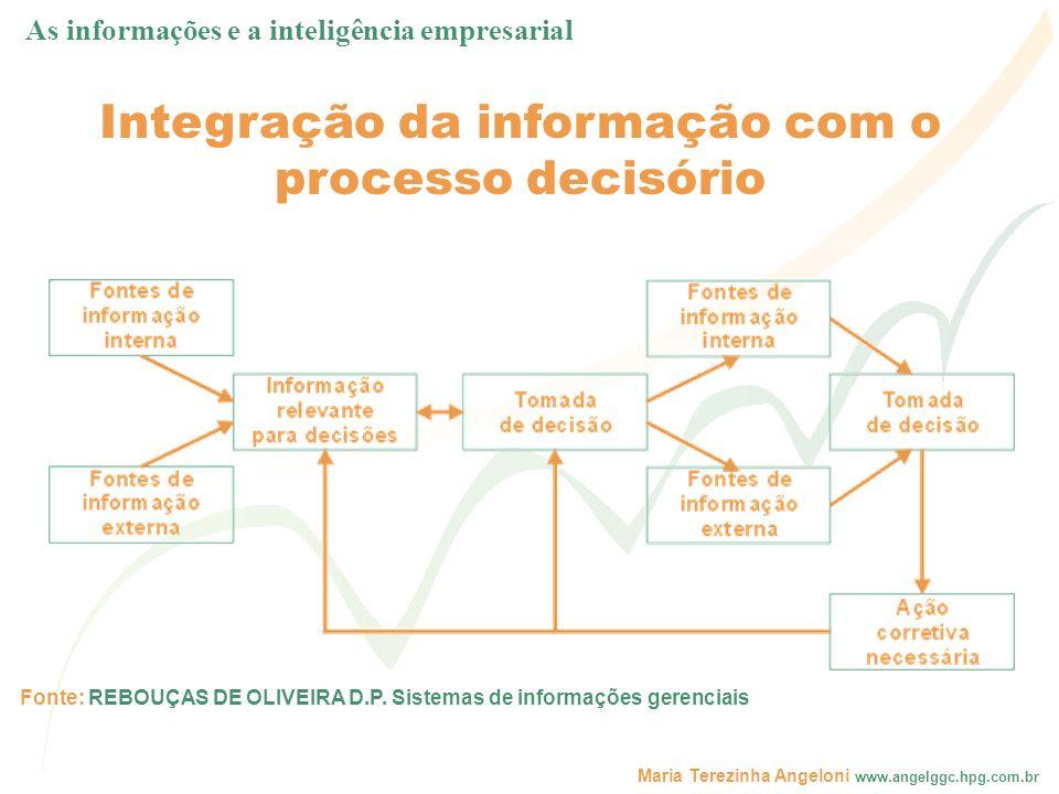 Integração da informação com o processo decisório