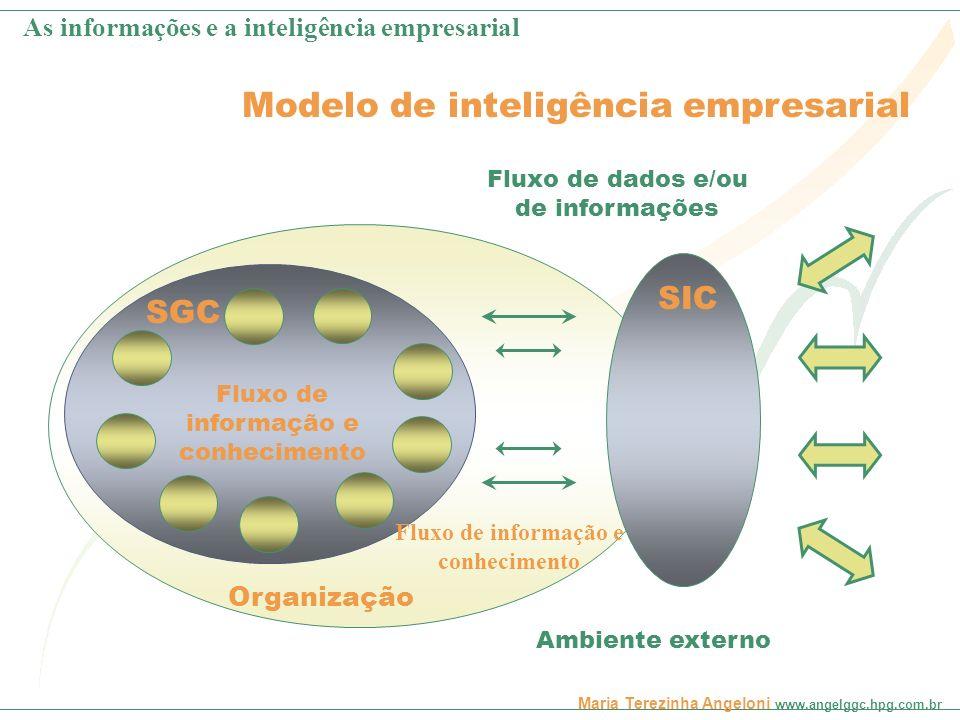 Fluxo de informação e conhecimento
