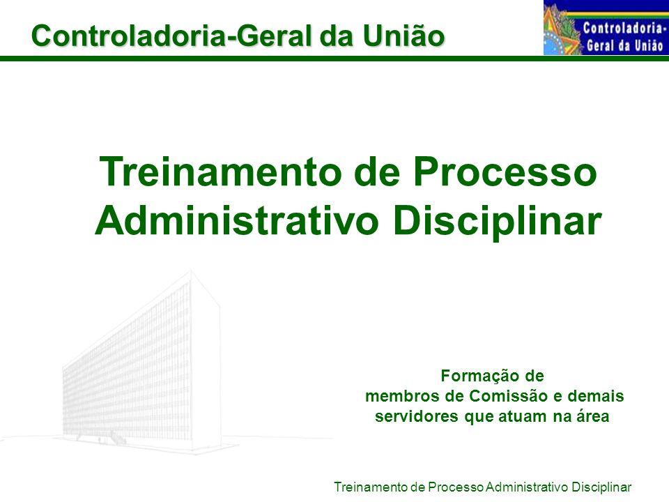 Treinamento de Processo Administrativo Disciplinar