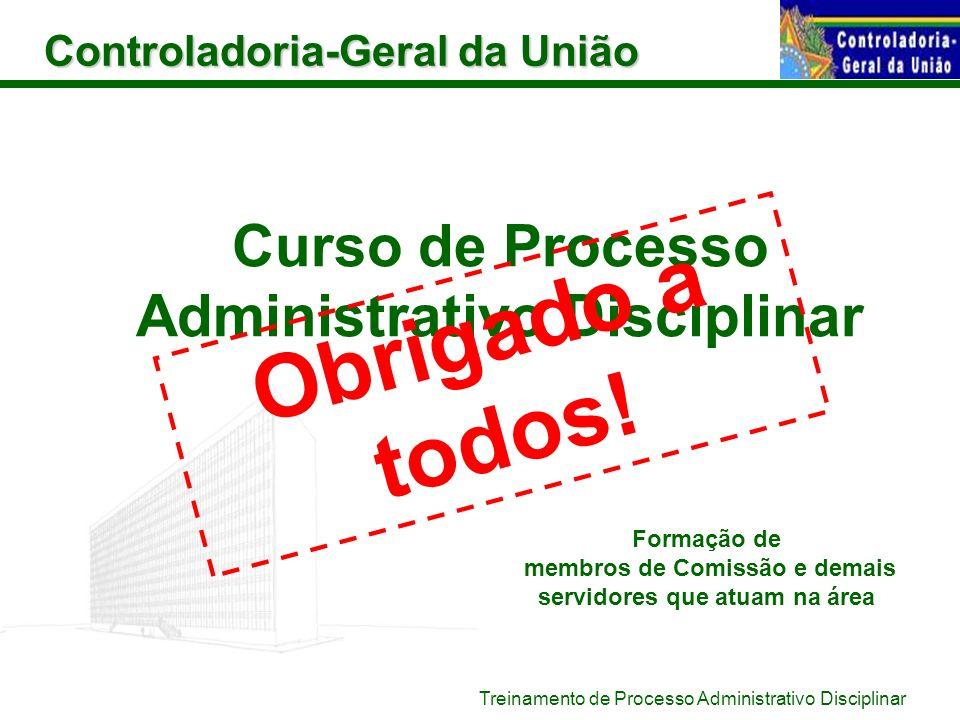 Curso de Processo Administrativo Disciplinar