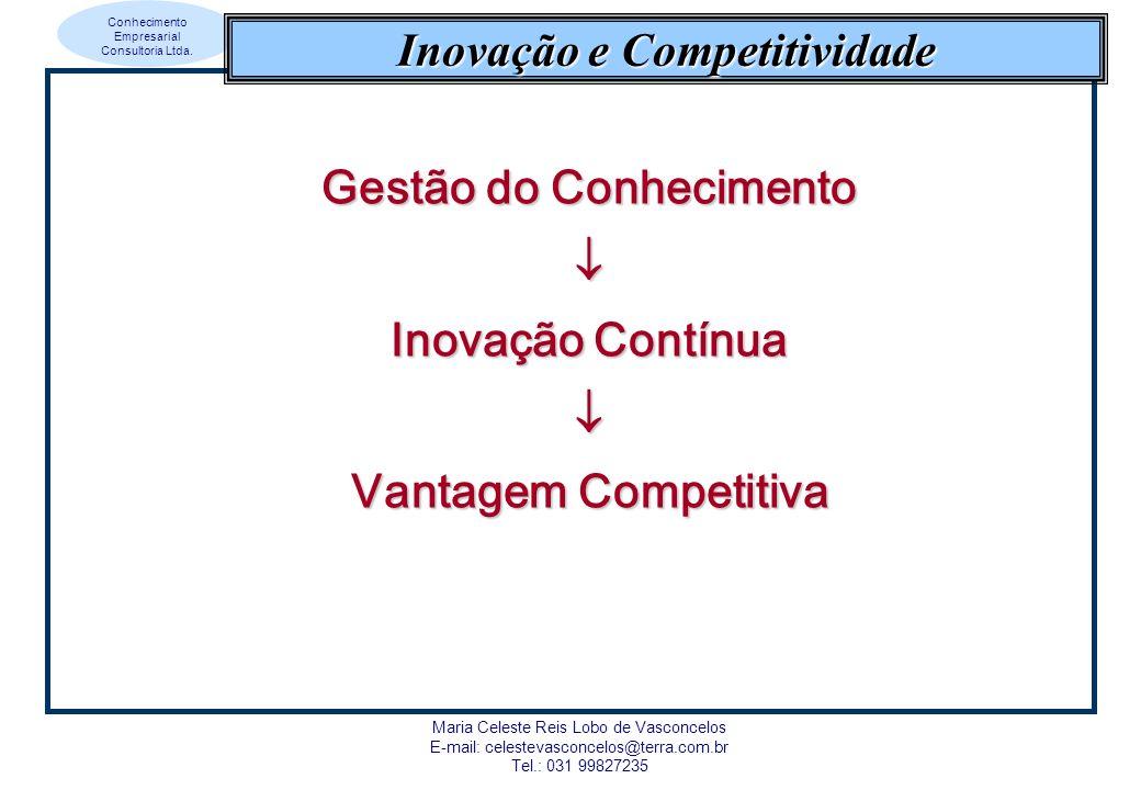 Inovação e Competitividade Gestão do Conhecimento