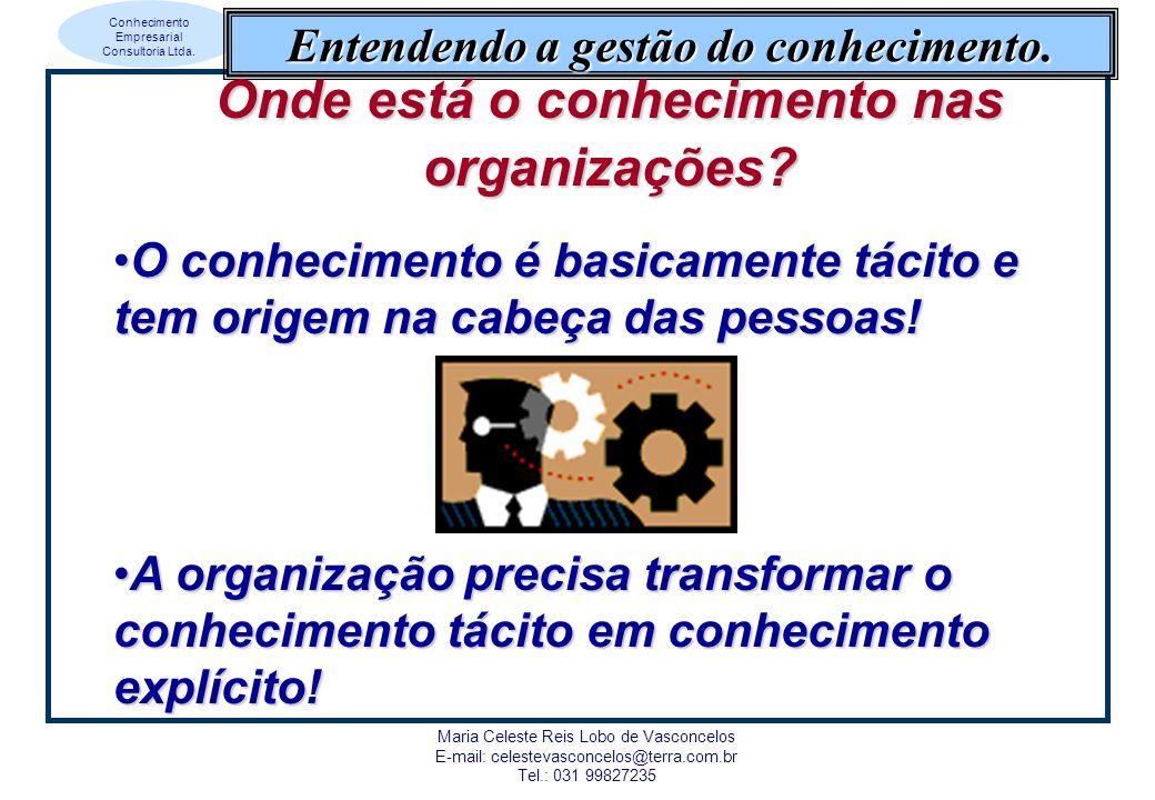 Onde está o conhecimento nas organizações