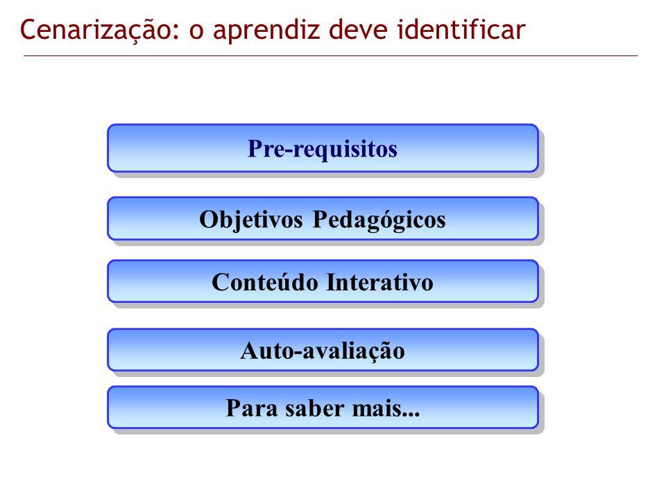 Objetivos Pedagógicos