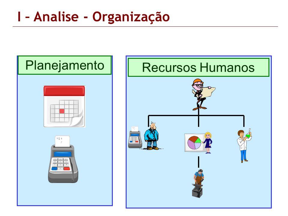 I – Analise - Organização