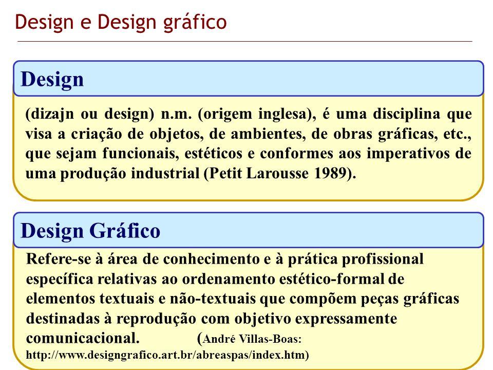 Design e Design gráfico
