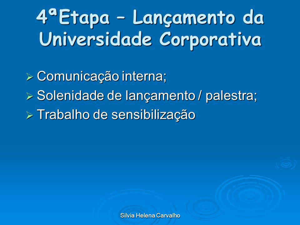 4ªEtapa – Lançamento da Universidade Corporativa