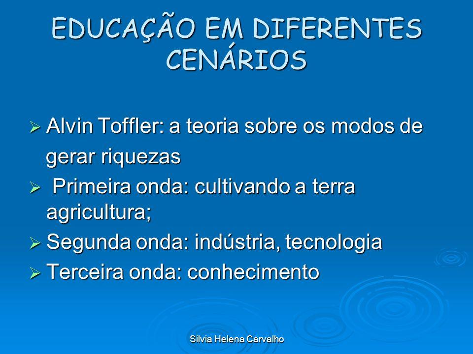 EDUCAÇÃO EM DIFERENTES CENÁRIOS