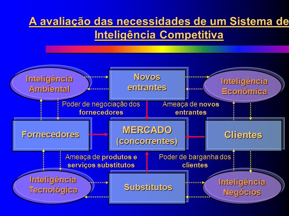 A avaliação das necessidades de um Sistema de Inteligência Competitiva