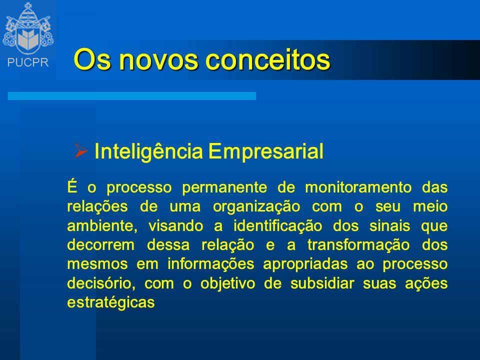 Os novos conceitos Inteligência Empresarial