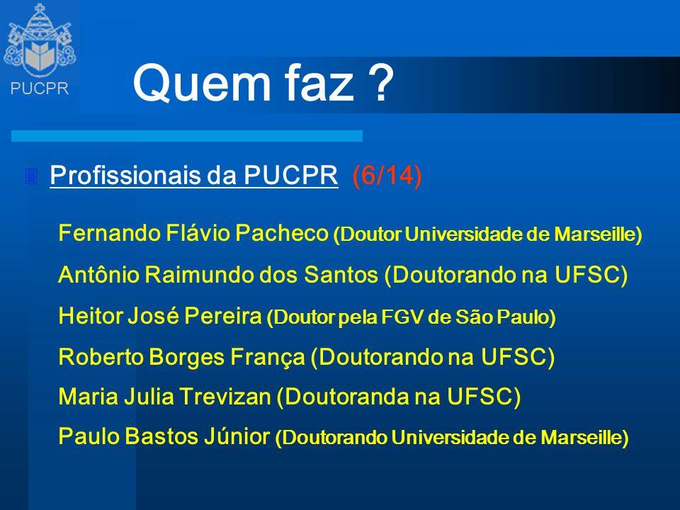 Quem faz Profissionais da PUCPR (6/14)