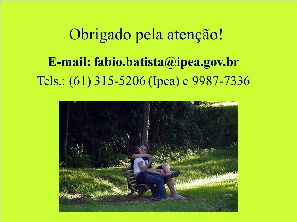 E-mail: fabio.batista@ipea.gov.br