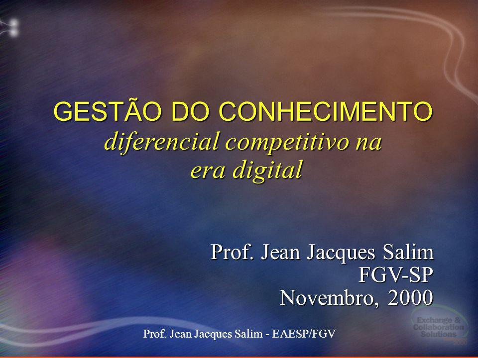 GESTÃO DO CONHECIMENTO diferencial competitivo na era digital