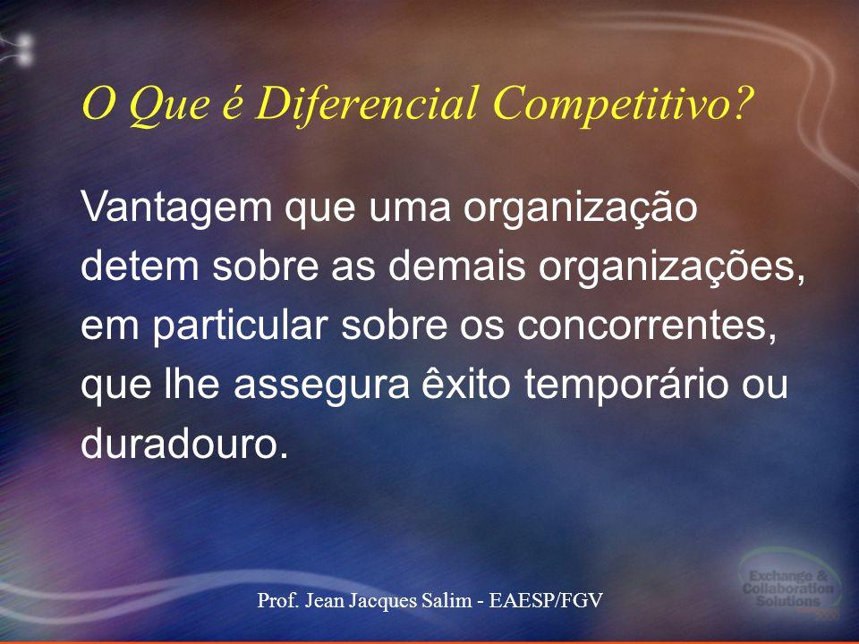 O Que é Diferencial Competitivo