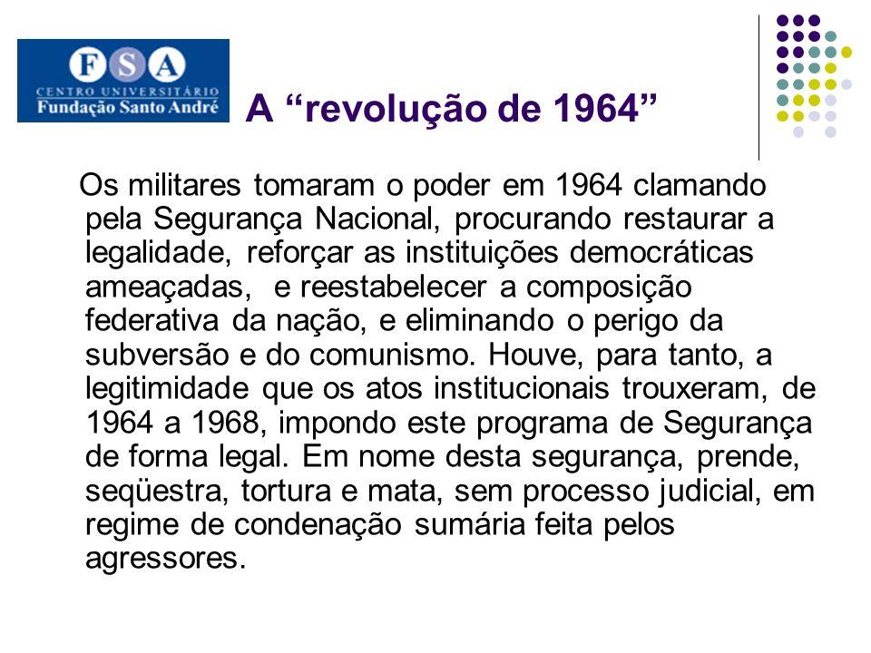 A revolução de 1964
