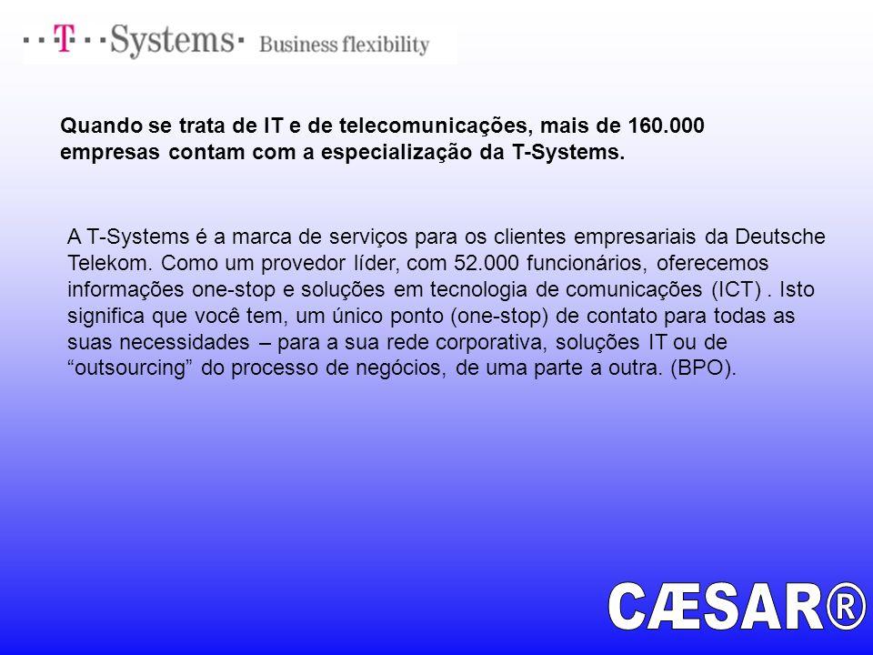 Quando se trata de IT e de telecomunicações, mais de 160