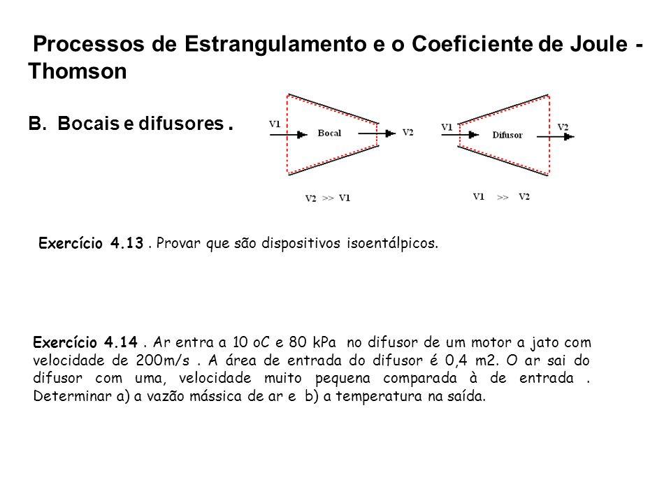 Processos de Estrangulamento e o Coeficiente de Joule -Thomson