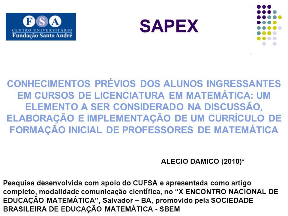 SAPEX ALECIO DAMICO (2010)*
