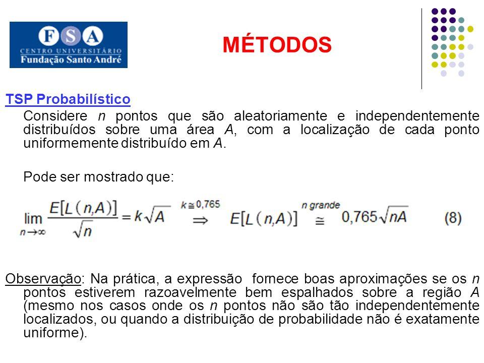 MÉTODOS TSP Probabilístico