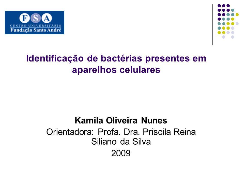 Identificação de bactérias presentes em aparelhos celulares